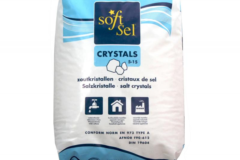 Glenwood Ltd.: Soft-Sel 5-15  - Dried refined salt for water softening.