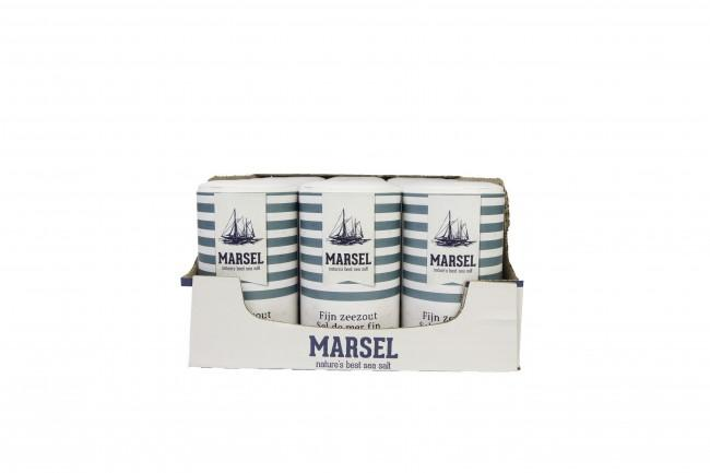 Glenwood Ltd.: MARSEL SEA Salt -- Retail. Available in 500g shakers / 15 units per carton / 90 cartons per pallet